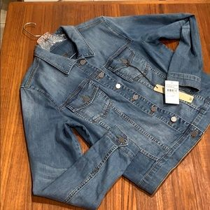 Kut from the kloth jean jacket size XL NWT